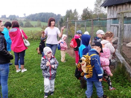 Laipna saimniece Ligita Vitolina izrada savu lauku setu ar dazadiem majputniem