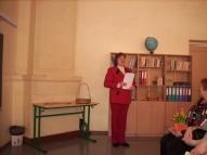 Vestienas pamatskolas MK vadītāja V. Dāve.