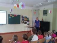 Sākumskolas dzejas dienas vadīja skolotāja D. Čandere.