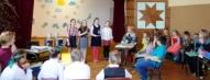 Vestienas pamatskolas komanda - Marika, Paula, Anete un Viktorija