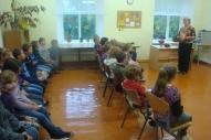 Dzejasdienas atklāj skolotāja I. Leontjeva