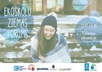 22.-24. februārī - Ekoskolu Ziemas forums