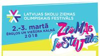 2.-3. martā Latvijas skolu Ziemas Olimpiskais festivāls