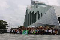 14.septembrī - Ekoskolu apbalvošanas pasākums un Zaļā karoga saņemšana