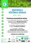 No 30.oktobra līdz 5.novembrim - Ekoskolu Rīcības dienas!