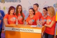 """Lepojamies ar mūsu komandu """"Atomsprādziens"""""""