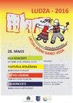 """28.maijā - tautas deju festivāls """"Latvju bērni danci veda"""" Ludzā"""