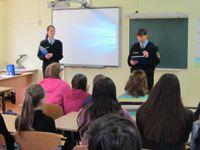 """19.aprīlī - tikšanās ar nepilngadīgo lietu inspekcijas pārstāvjiem """"Drošība un atbildība"""""""