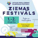 Latvijas skolu Ziemas olimpiskais festivāls Ērgļos