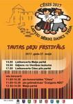 "27.maijā - tautisko deju festivāls ""Latvju bērni danci veda"" Cēsīs"