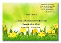 12.maijā - Ģimenes dienas koncerts Tautas namā