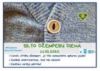 11.februārī  - Silto džemperu diena
