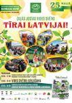 """25.maijā - Zaļās jostas Vides Svētki """"Tīrai Latvijai"""""""