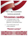 11.-15.novembris - Tēvzemes nedēļa